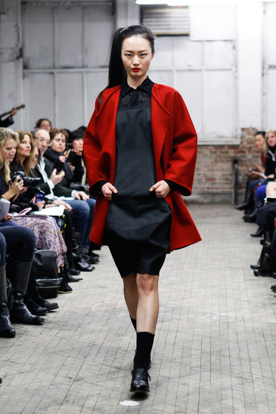 Yeohlee at New York Fall 2013