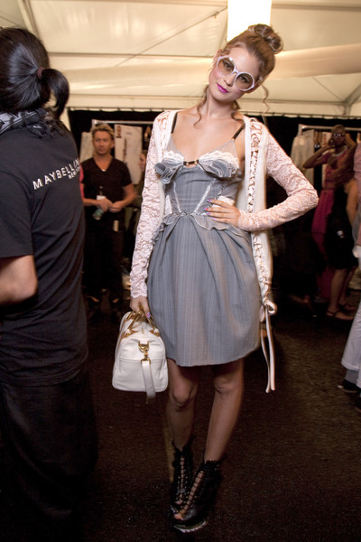 Z Spoke by Zac Posen Spring 2011 - Backstage