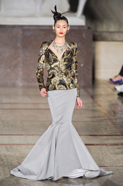 New York Fashion Week Fall 2012, Zac Posen