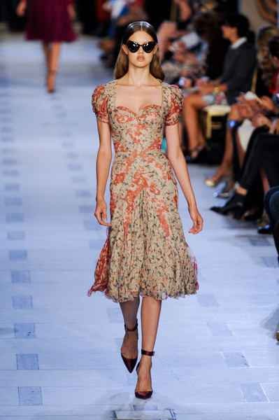 Zac Posen at New York Spring 2013