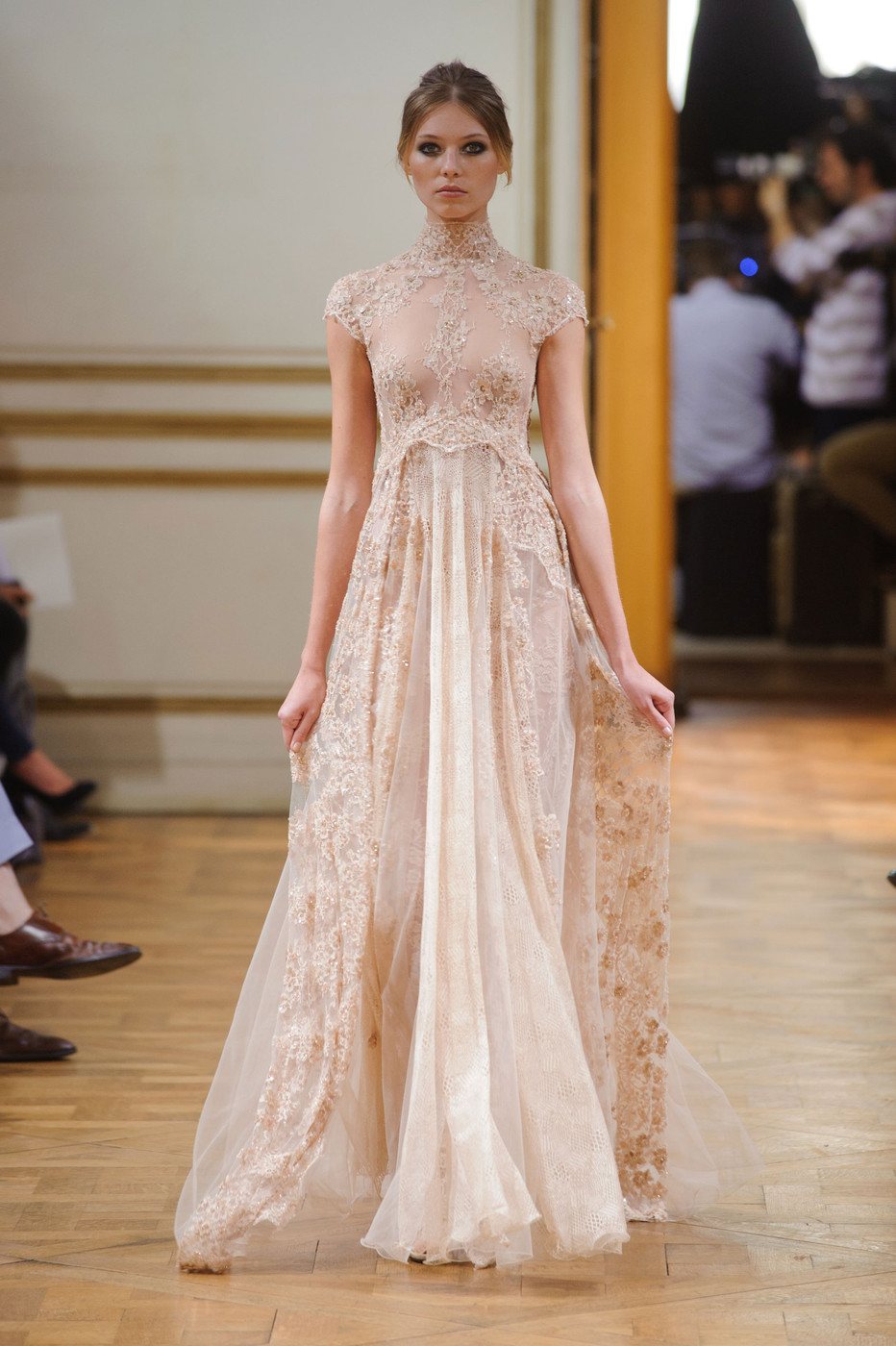 Zuhair murad at couture fall 2013 stylebistro - Dressing modellen ...