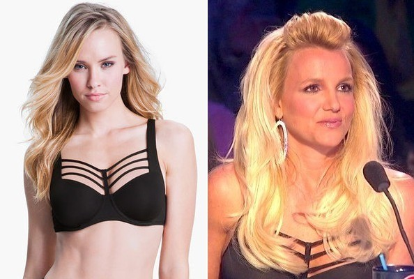Britney Spears' Bra Top on 'The X Factor'