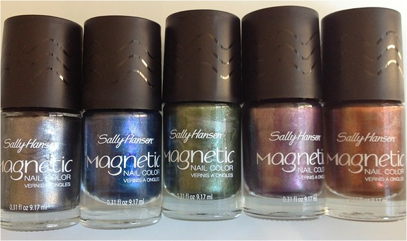 Nail Obsession of the Day: Sally Hansen's Gem Crush, Magnetic, and Salon Manicure Polishes