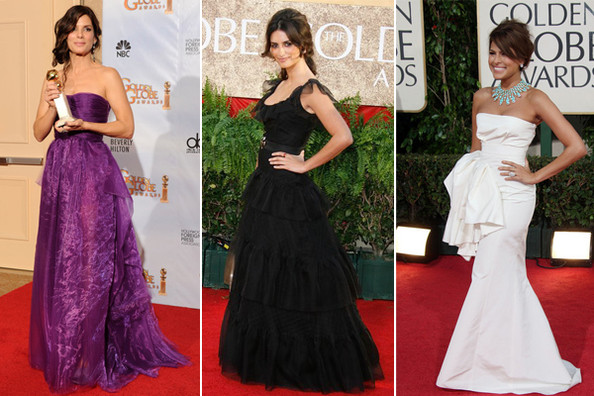 A Look Back at the Best Gowns at the Golden Globes