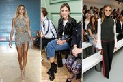 The Best Front Row Fashions at London Fashion Week Spring 2017