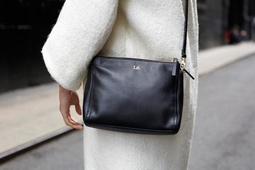 Current Obsession: Lo & Sons The Pearl Leather Crossbody Bag