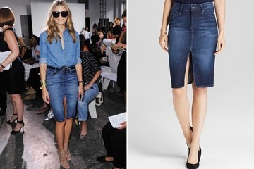 Found: Olivia Palermo's Denim Skirt