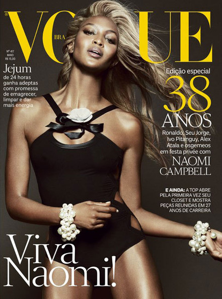 Naomi Campbell Goes Blond for 'Vogue' Brazil, Karl Lagerfeld Doesn't Know How Old He Is, and More!