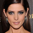 Ashley Greene's Navy Smoky Eyes