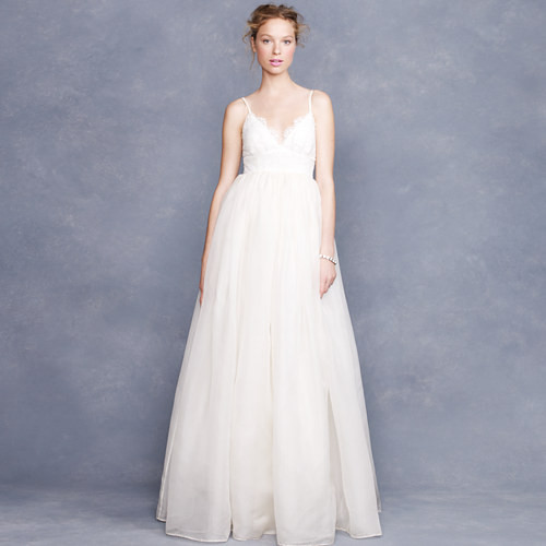 Jcrew Weddings: J.Crew Collection Principessa Gown Lace And Organza