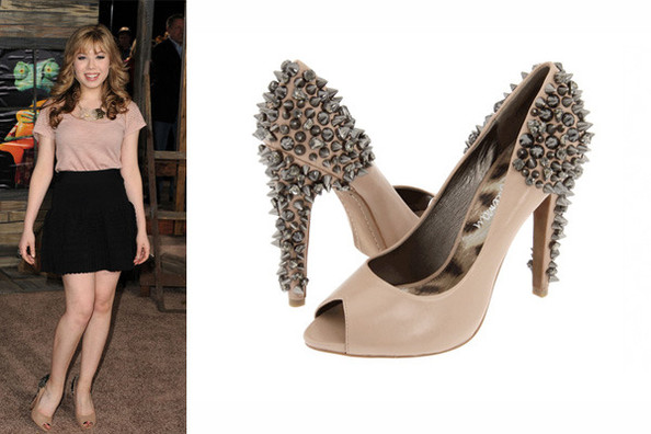 82690a917 Sam Edelman Spiked Heels - Jennette McCurdy s 10 Spring Must-Haves ...