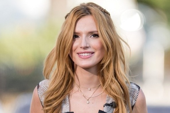 Bella Thorne's Renaissance-Inspired Braids