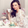 Miranda Kerr Debuts Her Tea Cup Launch