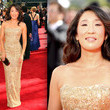 Sandra Oh in Marchesa
