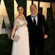 Georgina Chapman at the Vanity Fair Oscars Party 2013