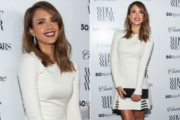 Jessica Alba's Winter White