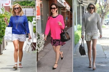 Trend to Try: Open-Weave Sweaters