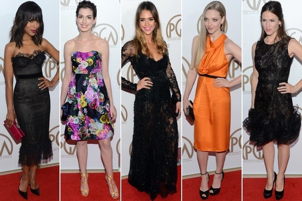Producers Guild Awards 2013 - Best & Worst Dressed