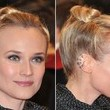 Diane Kruger's Rolled and Twisted Updo