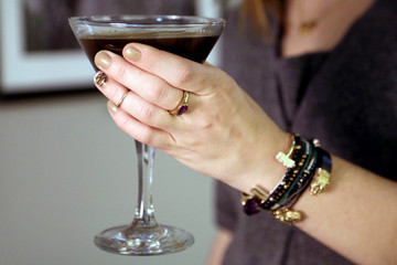 Sips and Tips: The Peppermint Mocha Espresso Martini and The Chocolate Swirl Mani