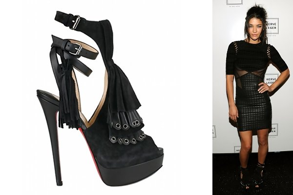 9279e0d5119 Jessica Szohr in Misfit 150 Sandals - Celebrities Love Christian ...