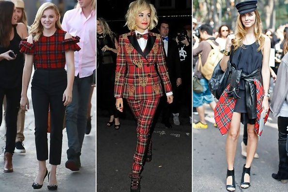 Trend to Try: Red Tartan