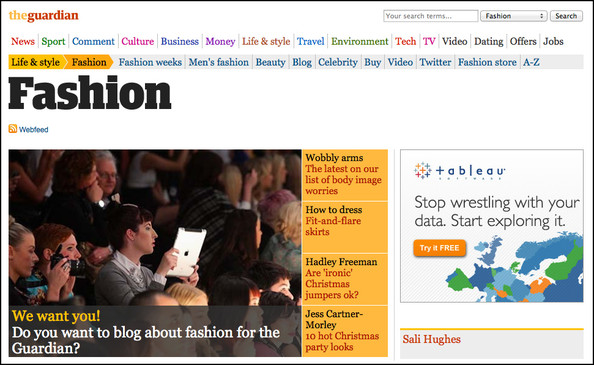 'The Guardian' is Launching a Fashion Blogger Network