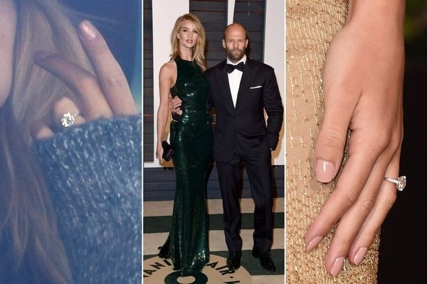 Stylish Celeb Couples: Rosie Huntington-Whiteley and Jason Statham