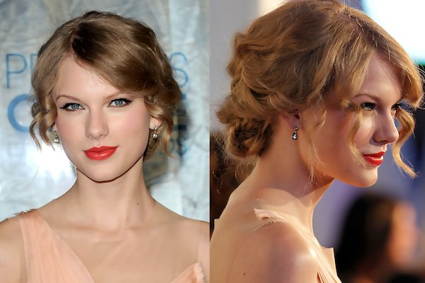 People Pleaser Taylor Swift Prom Hairstyles Stylebistro
