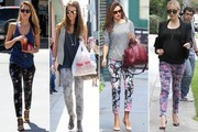 10 Ways to Wear Floral Pants Into Fall