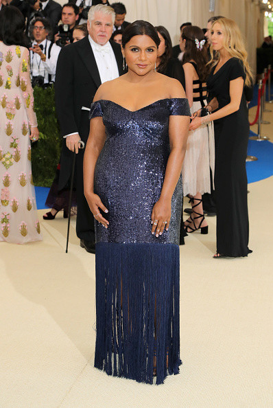 Mindy Kaling in Prabal Gurung