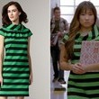 Jenna Ushkowitz's Striped Kate Spade Dress on 'Glee'