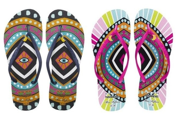 Current Obsession: Mara Hoffman for Havaianas Flip Flops