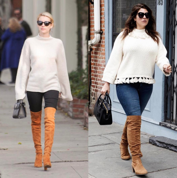 Emma Roberts' Cozy And Chic Look