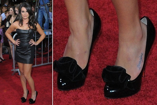Lea Michele at 'The Twilight Saga: New Moon' Premiere