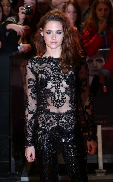 Kristen Stewart at the 'Breaking Dawn - Part 2' UK Premiere