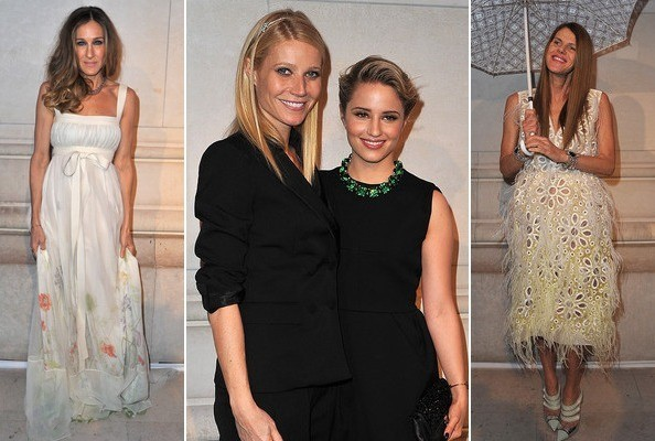 The Best Dressed Celebs at Paris Fashion Week Fall 2012