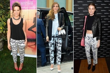 What to Wear: Printed Trousers