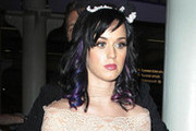 Hot or Not: Katy Perry's Purple and Blue Highlights