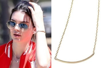 Found: Kendall Jenner's Arch Necklace