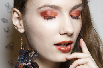 Would You Ever Try Orange Eyeshadow?