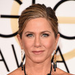 Jennifer Anniston's Unexpected Updo and Bronzed Shine