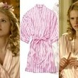 Claudia Lee's Striped Robe on 'Hart of Dixie'