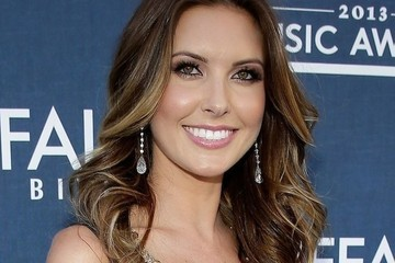 Get The Look - Audrina Patridge's Gold Mesh Tank Top
