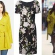 Mindy Kaling's Yellow Trench Coat and Floral Sheath on 'The Mindy Project'