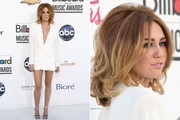 Miley Cyrus' White Dress at the Billboard Music Awards (Pictures)