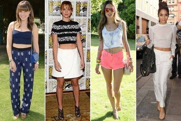 55 Stylish Ways to Bare Your Midriff