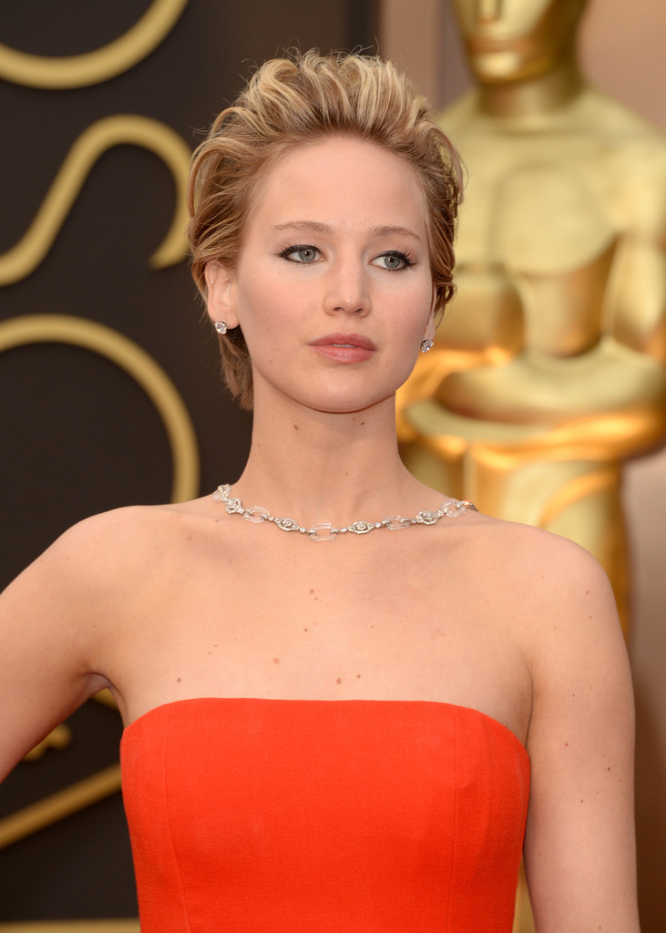 Jennifer Lawrence Oscars Dress