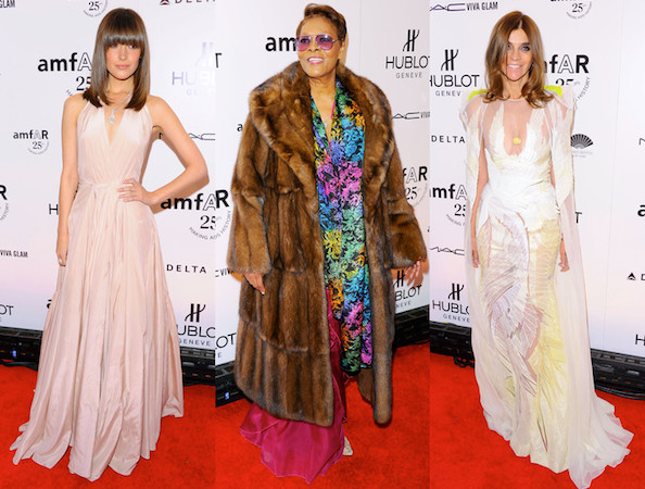 Best and Worst Dressed at the 2011 amfAR New York Gala for NYFW