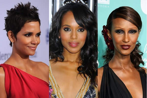 Black Celebrities Without Makeup Weave